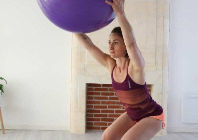 Alexandra Siano, coach sportif, prof pilates et profersseur de yoga à Jonzac et en charente maritime